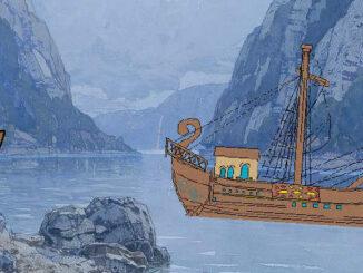Handelsschiff auf der Donau